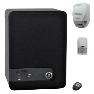 Kit autonome à diffusion 60° avec une sirène sans fil