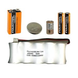 Piles et batteries pour éléments sans fil FOGBOX v2